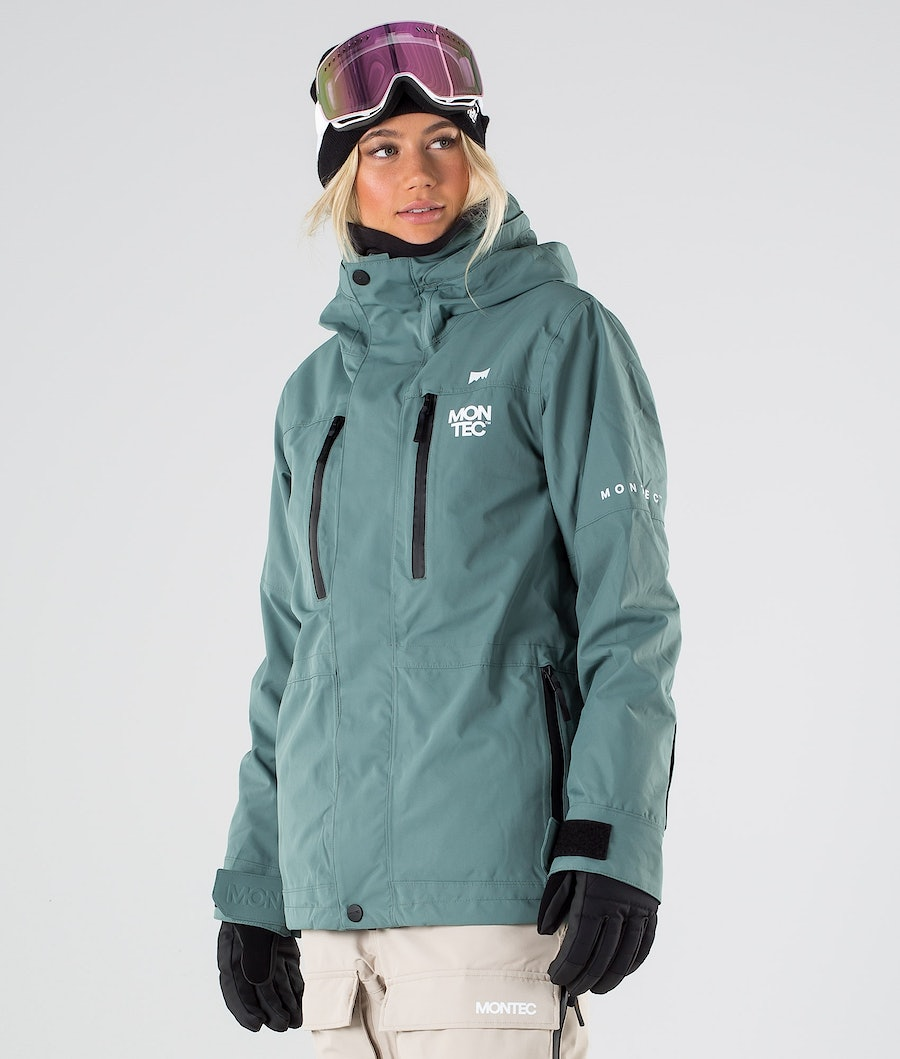 Montec Fawk W Women's Ski Jacket Atlantic