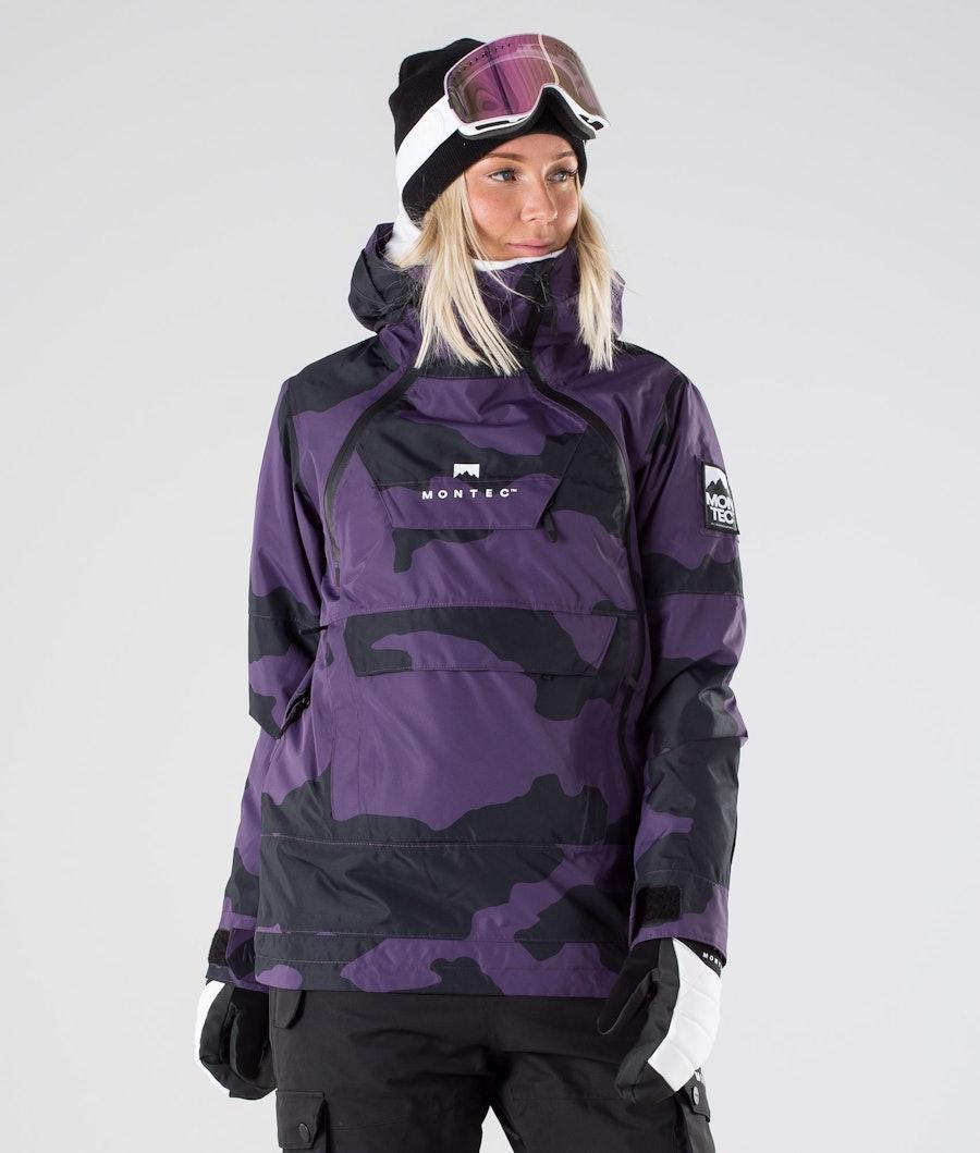 Montec Doom W Giacca Snowboard Grape Camo