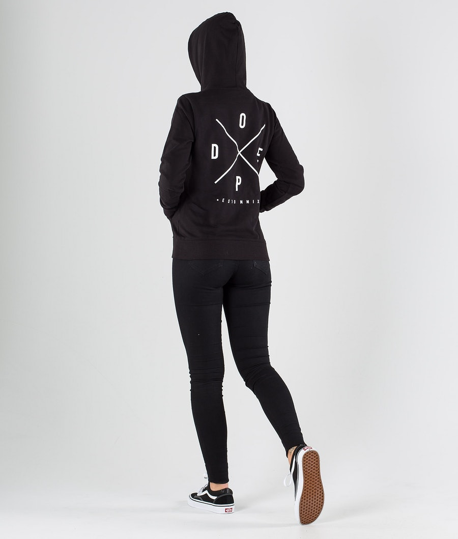 Dope Copain 2X-up Women's Hoodie Black