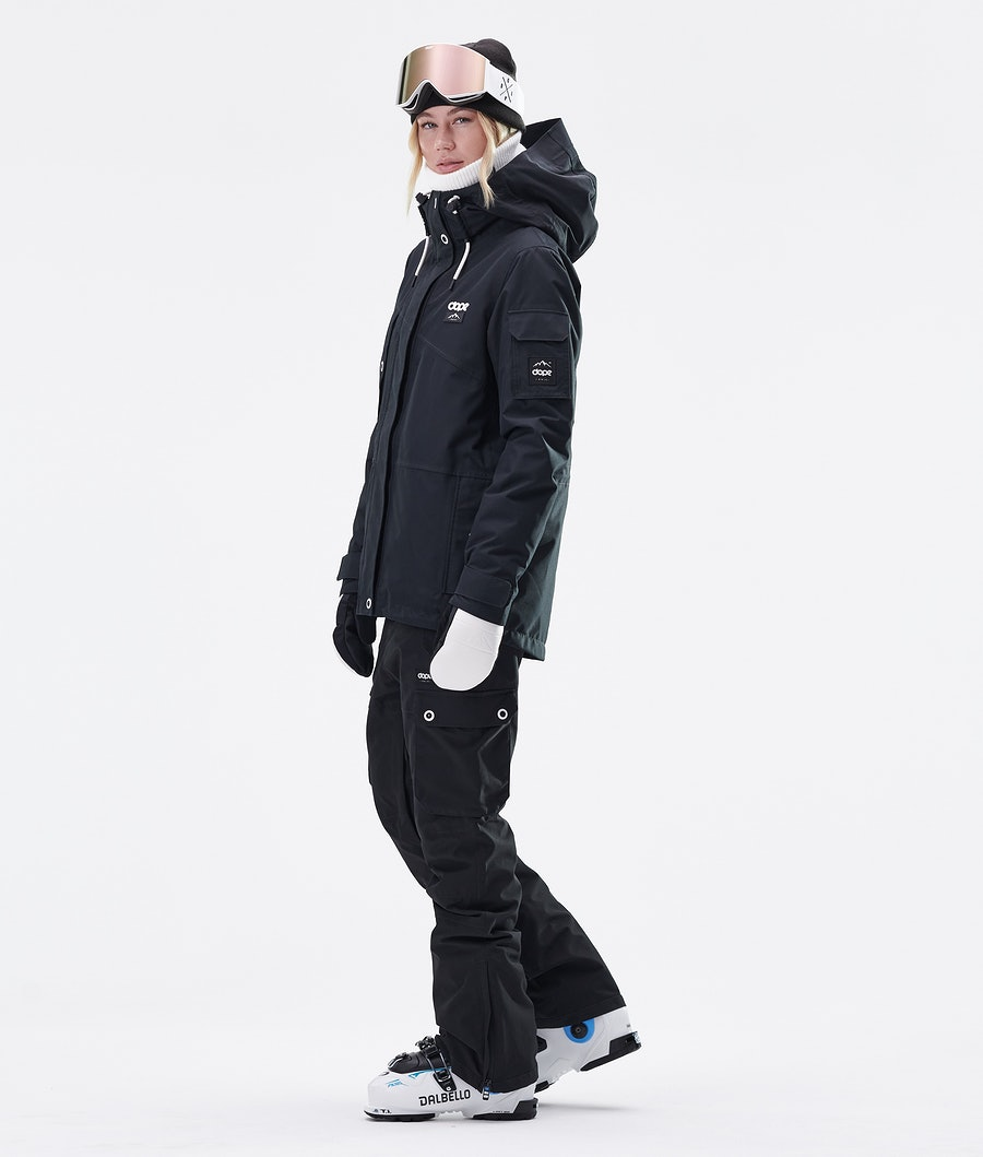 Dope Adept W Ski jas Dames Black