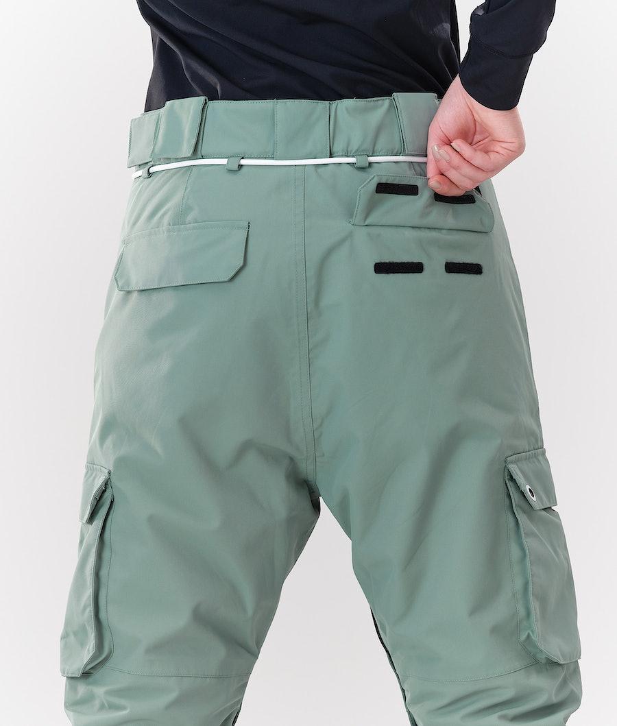 Dope Iconic W Pantaloni Sci Donna Faded Green