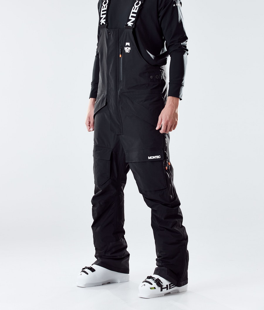 Fawk Ski Pants Men Black