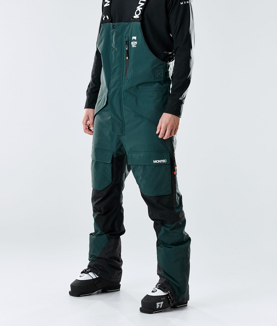 Fawk Ski Pants Men Dark Atlantic/Black