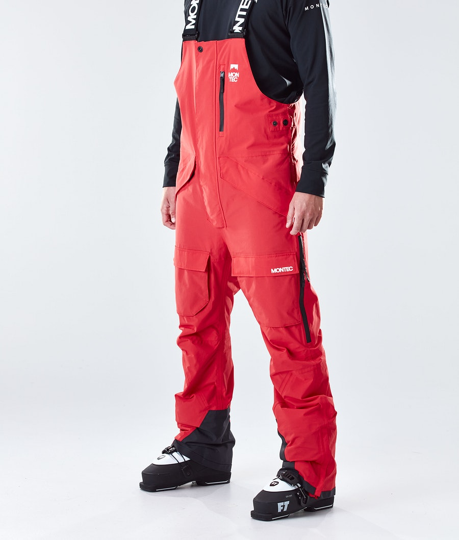 Fawk Ski Pants Men Red