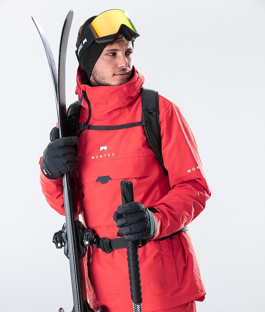 Montec Dune Ski Jacket Red