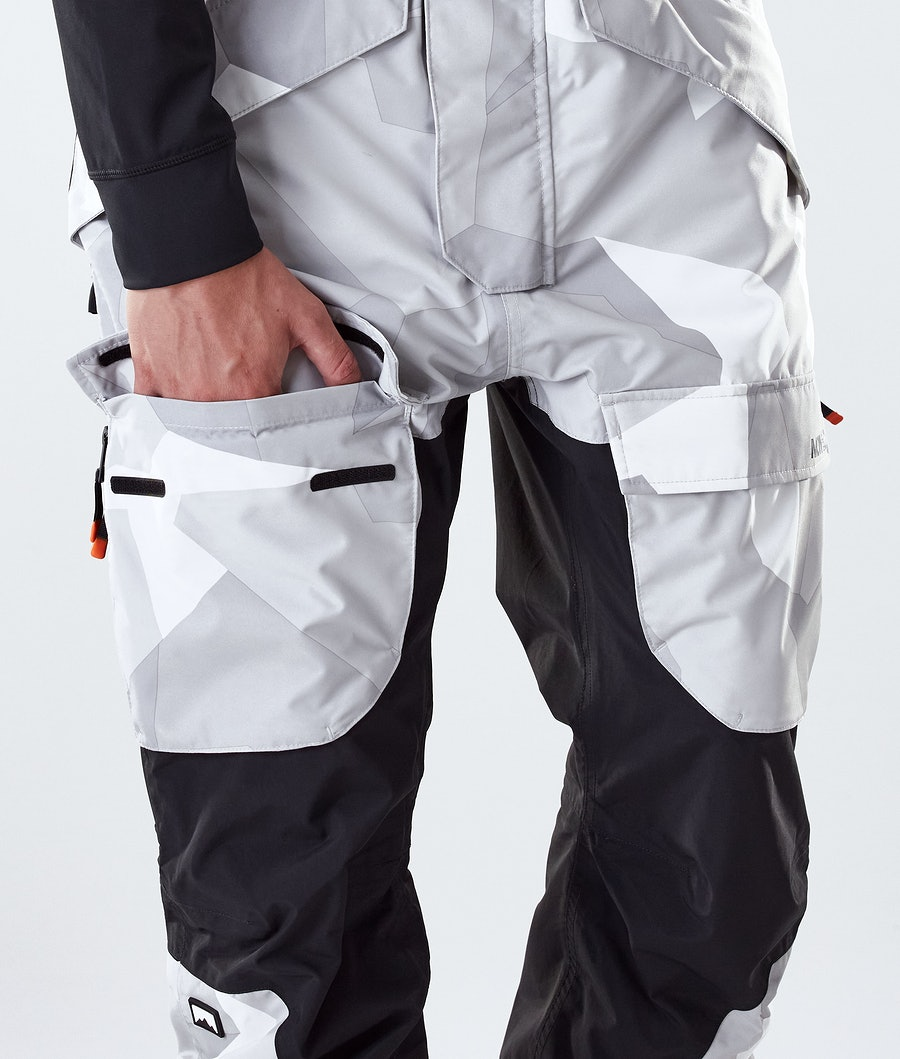 Montec Fawk Ski Pants Snow Camo/Black