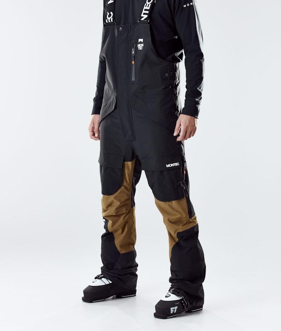 Montec Fawk Ski Pants Black/Gold Ski Pants Black/Gold