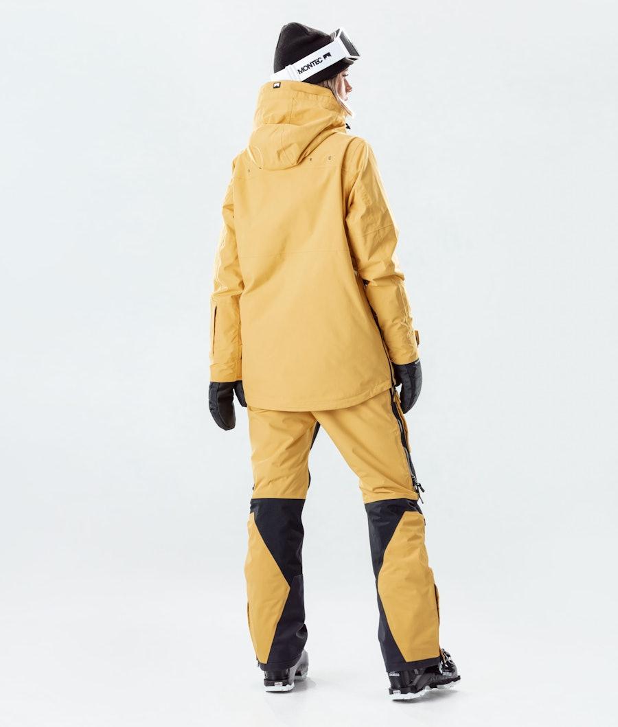 Montec Dune W Women's Ski Jacket Yellow