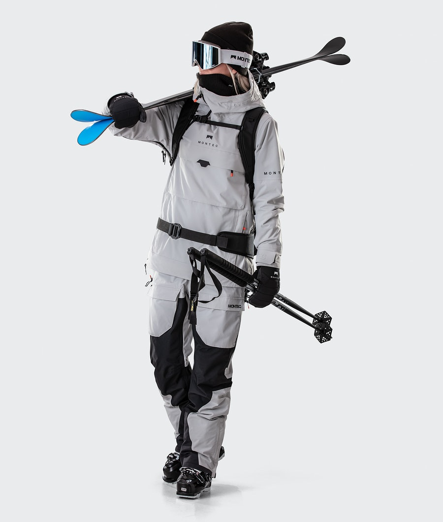 Montec Dune W Women's Ski Jacket Light Grey