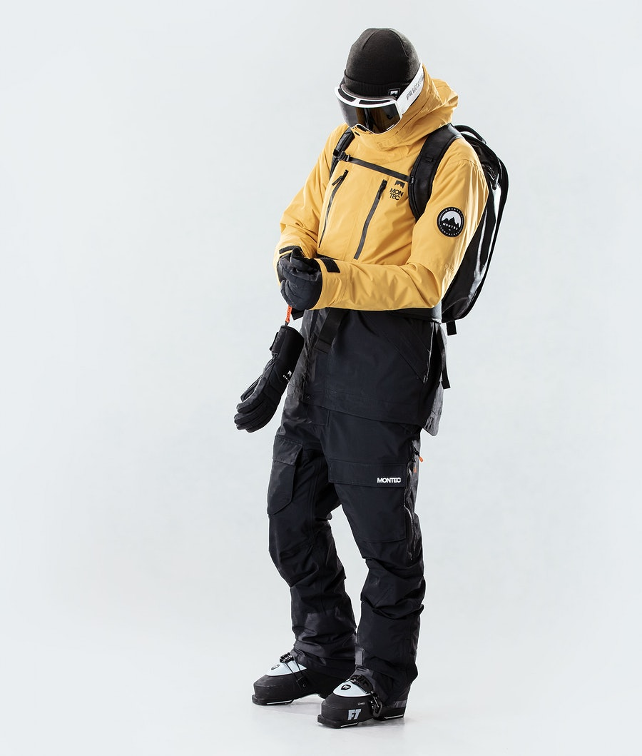 Montec Roc Ski Jacket Yellow/Black