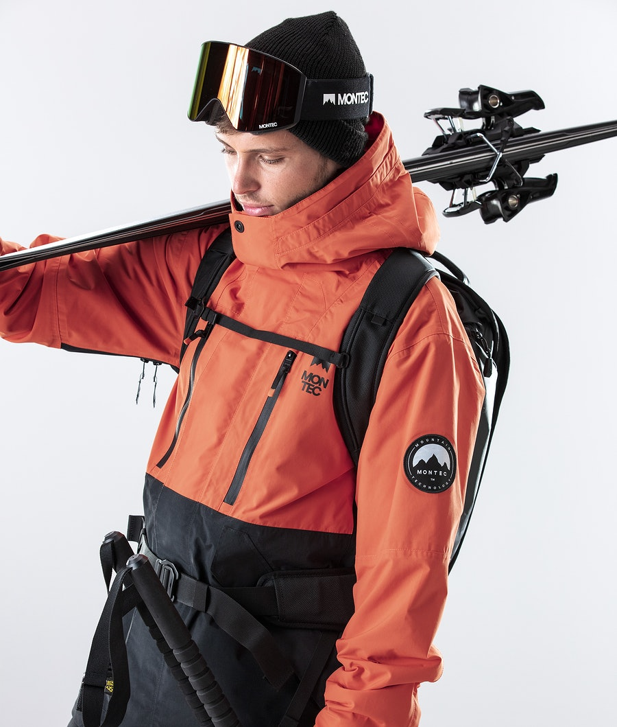 Montec Roc Ski Jacket Orange/Black