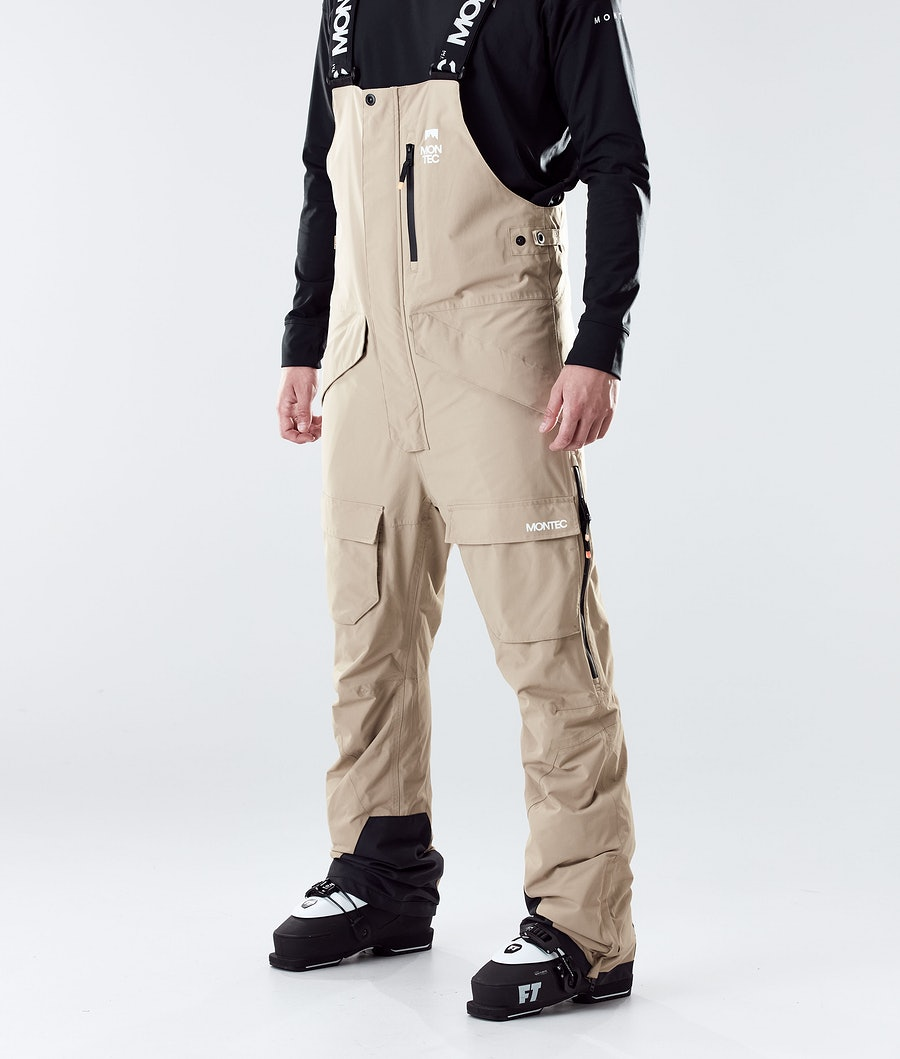 Fawk Ski Pants Men Khaki