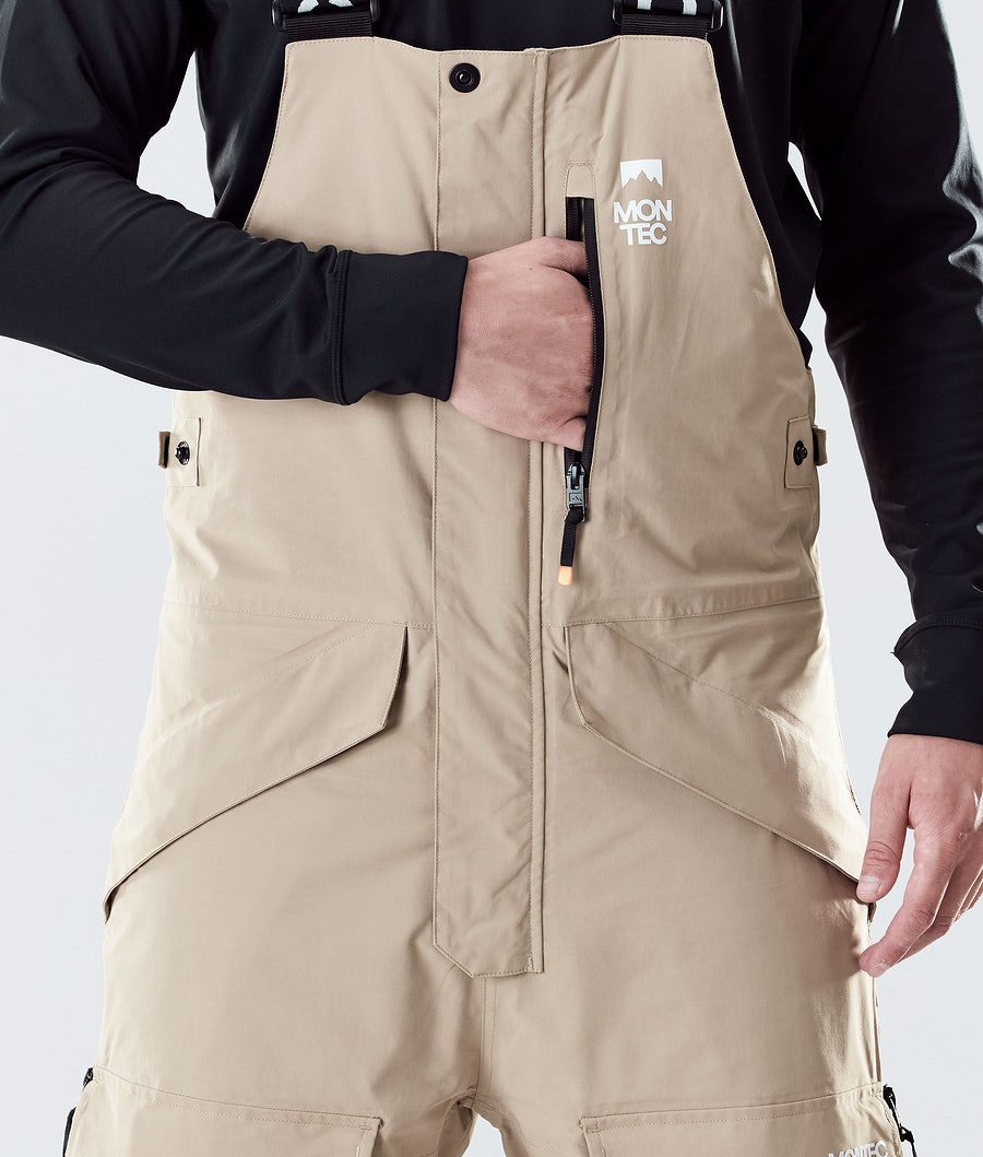 Montec Fawk Ski Pants Khaki