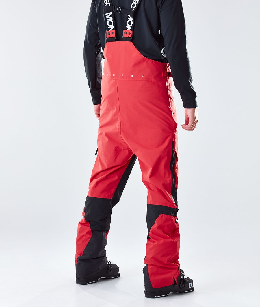 Montec Fawk Ski Pants Red/Black
