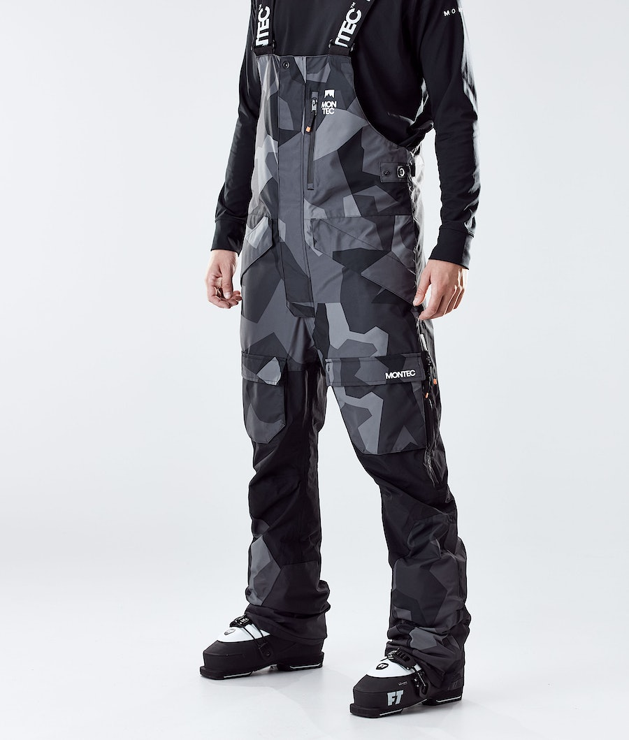 Fawk Ski Pants Men Night Camo/Black