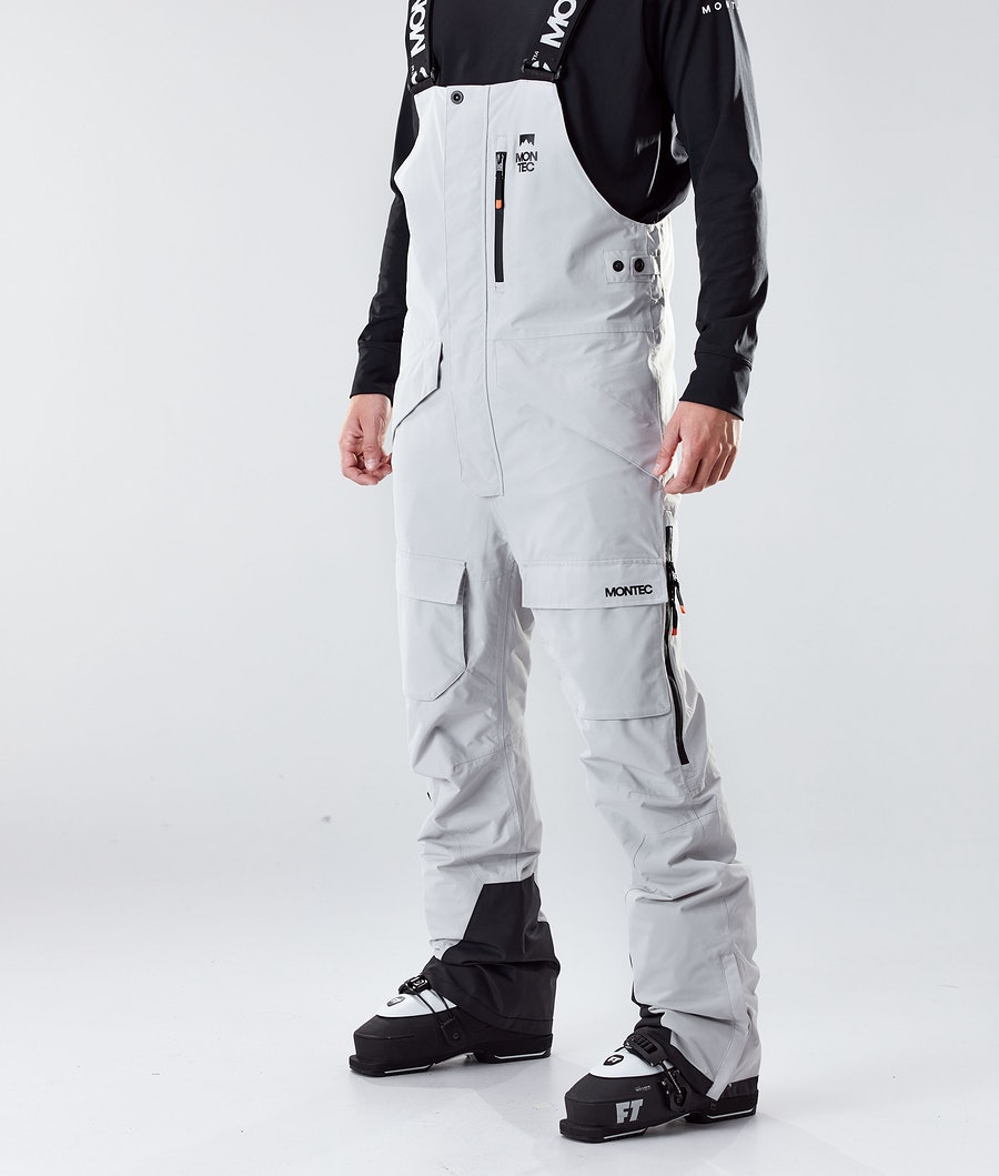Montec Fawk Ski Pants Light Grey Ski Pants Light Grey