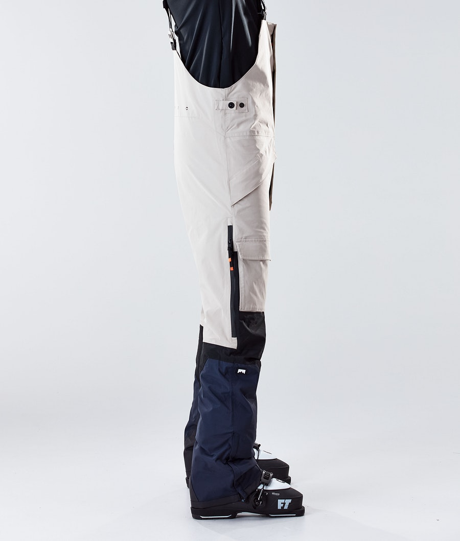 Montec Fawk Ski Pants Sand/Black/Marine