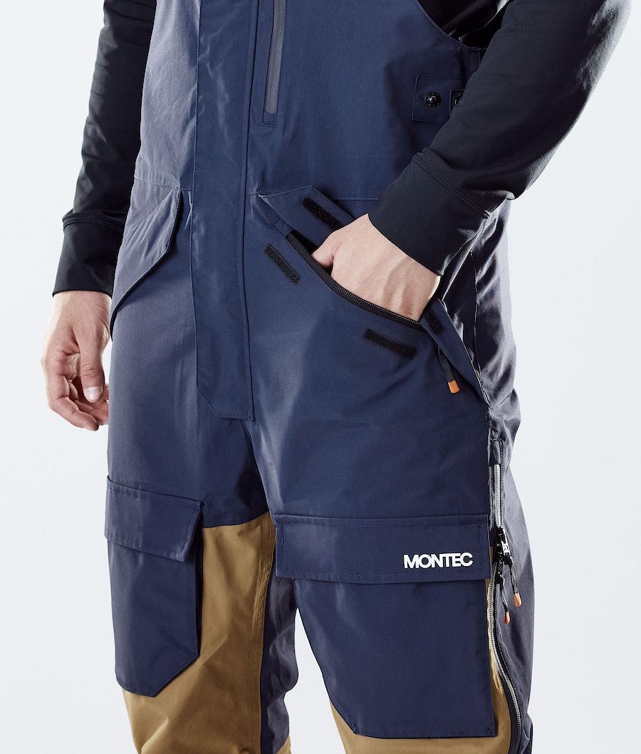 Montec Fawk Ski Pants Marine/Gold/Purple