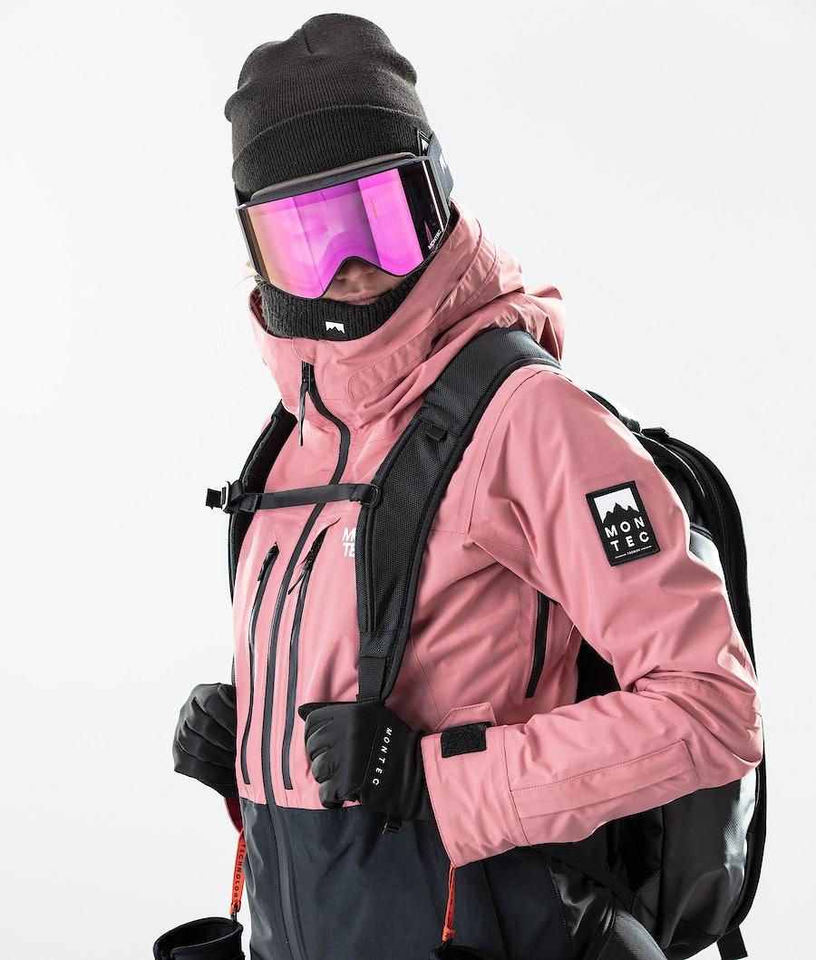 Montec Moss Naisten Laskettelutakki Pink/Black