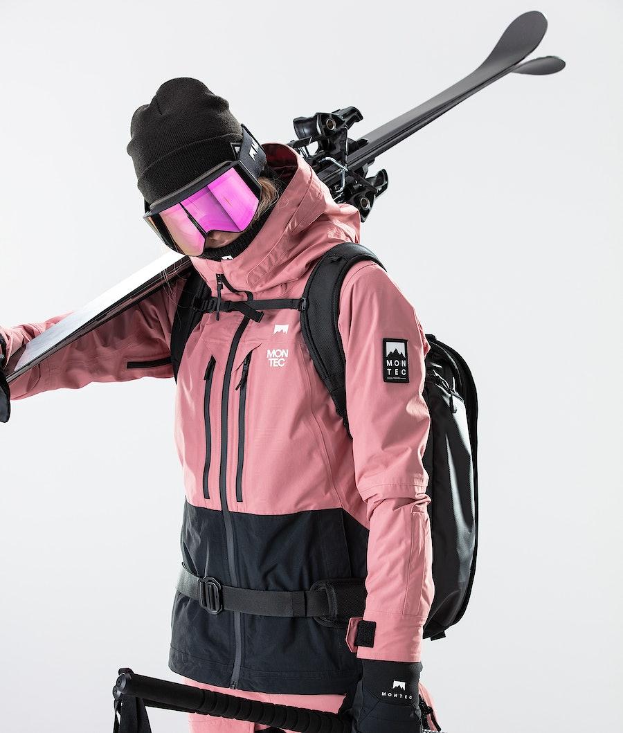Montec Moss Women's Ski Jacket Pink/Black