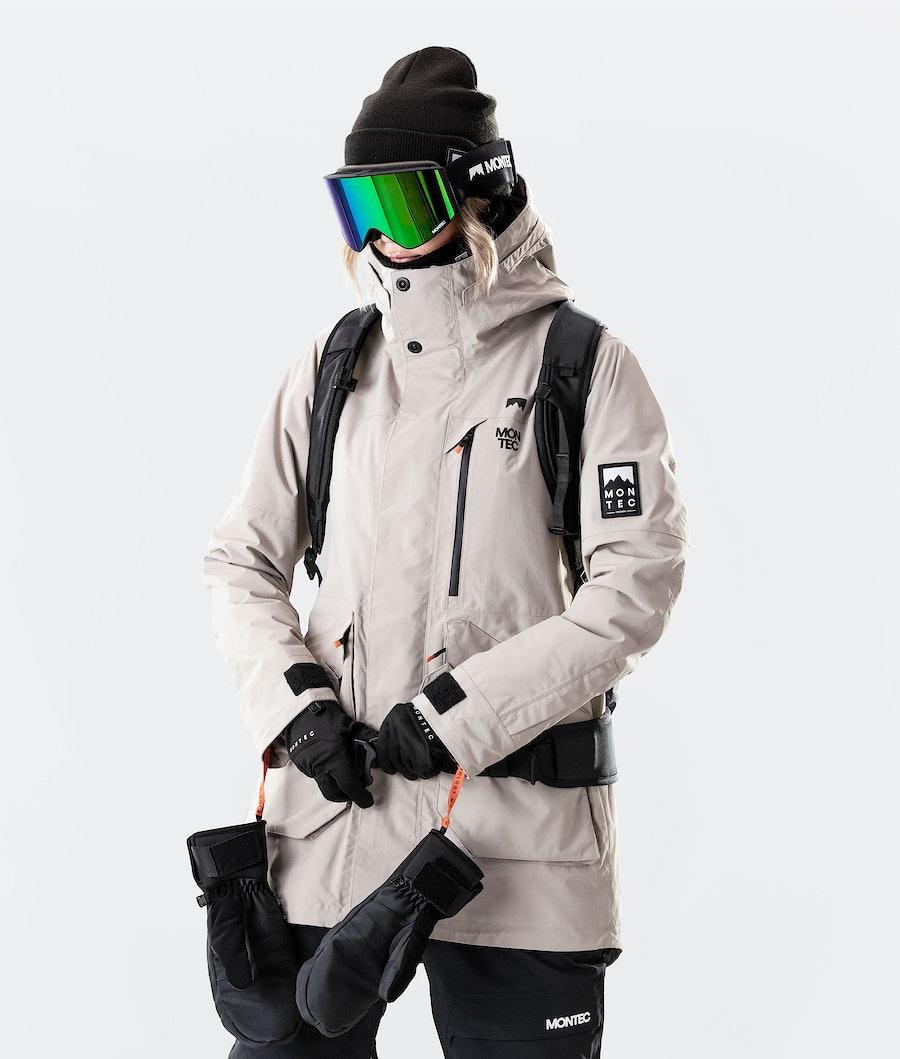 Montec Virago W Women's Snowboard Jacket Sand