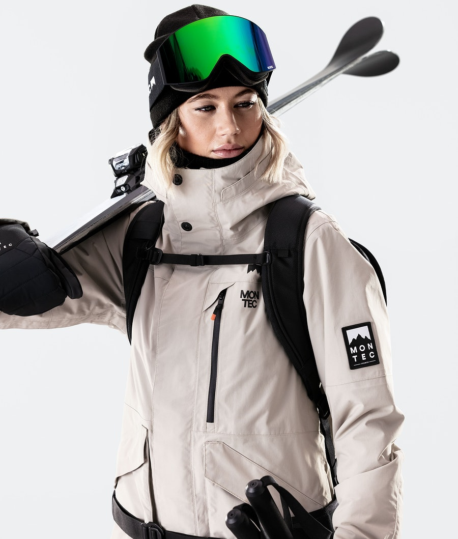 Montec Virago W Women's Ski Jacket Sand