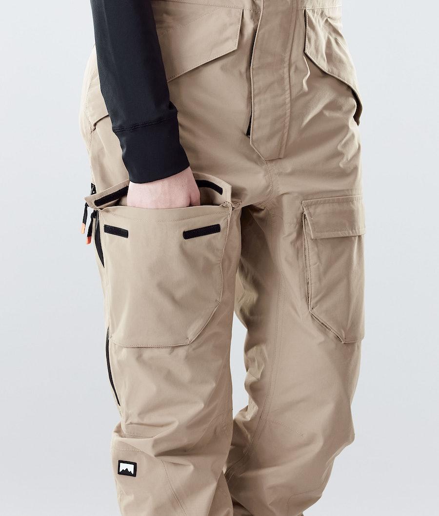Montec Fawk W Women's Ski Pants Khaki