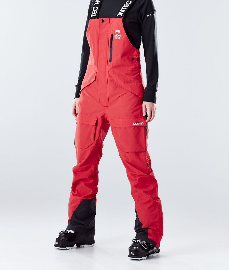 Fawk W Ski Pants Women Red