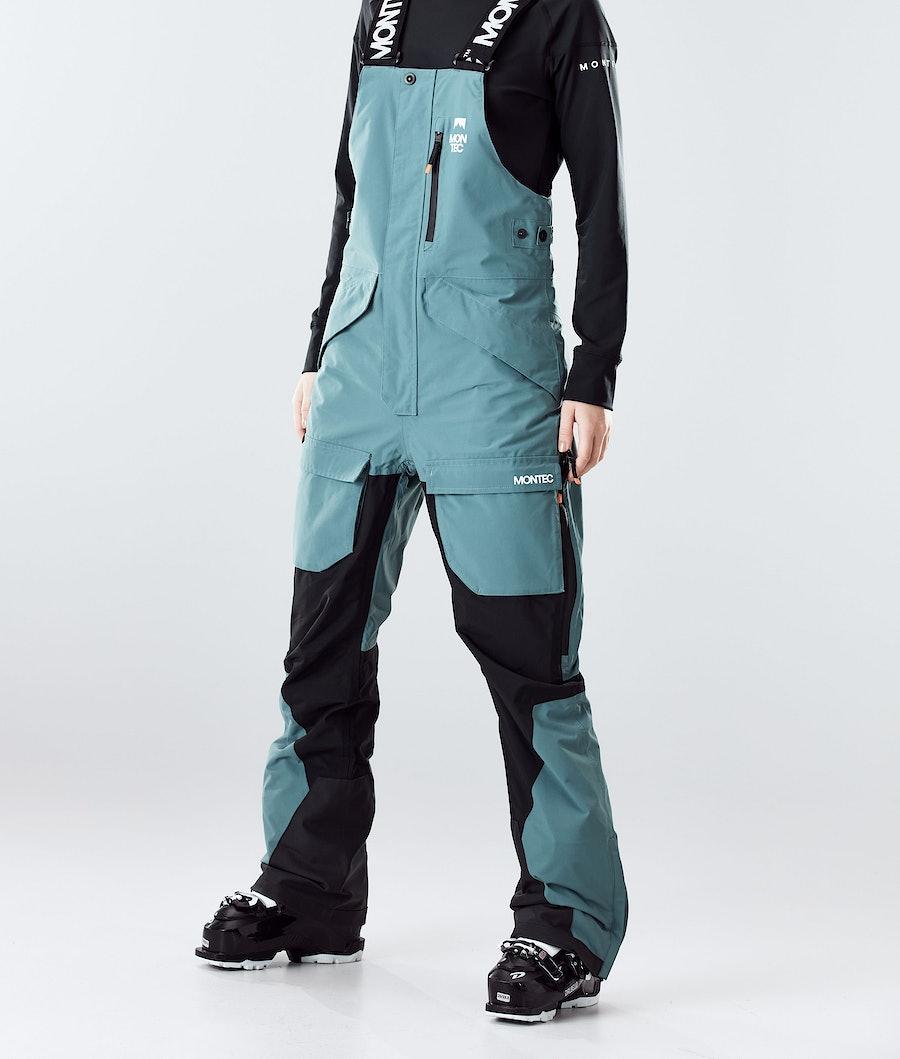 Montec Fawk W Women's Ski Pants Atlantic/Black