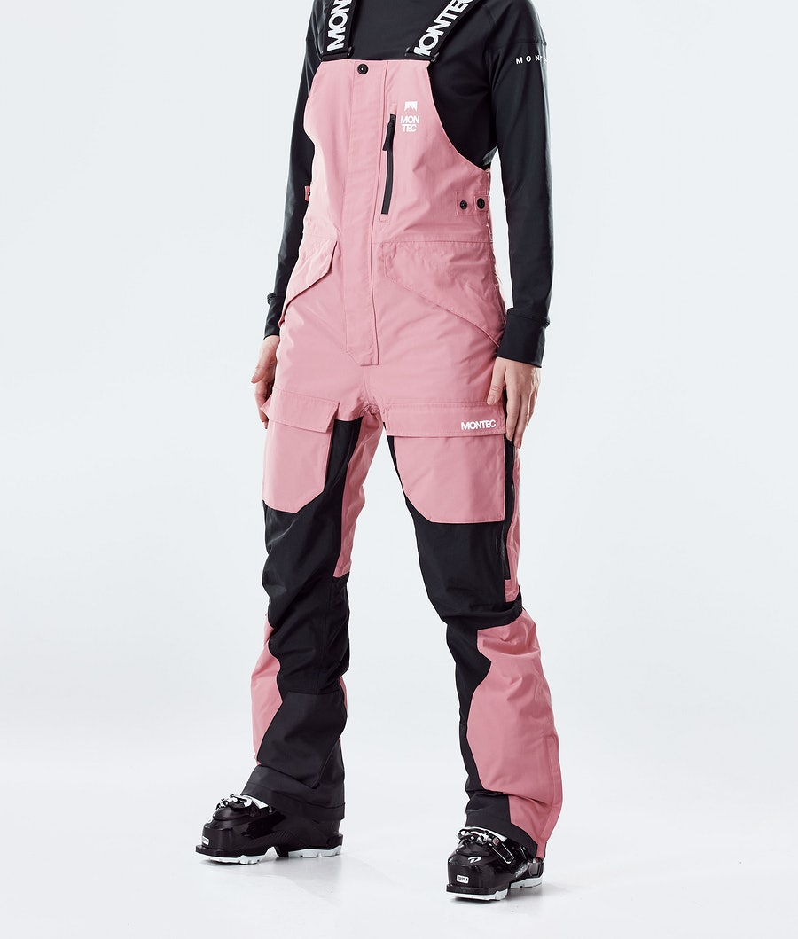 Montec Fawk W Women's Ski Pants Pink/Black