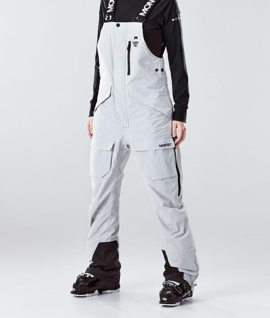 Montec Fawk W Ski Pants Light Grey Ski Pants Light Grey