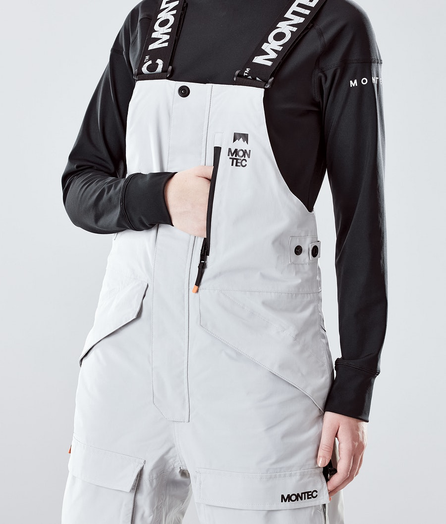 Montec Fawk W Women's Ski Pants Light Grey