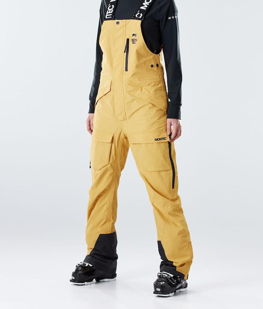 Montec Fawk W Ski Pants Yellow Ski Pants Yellow