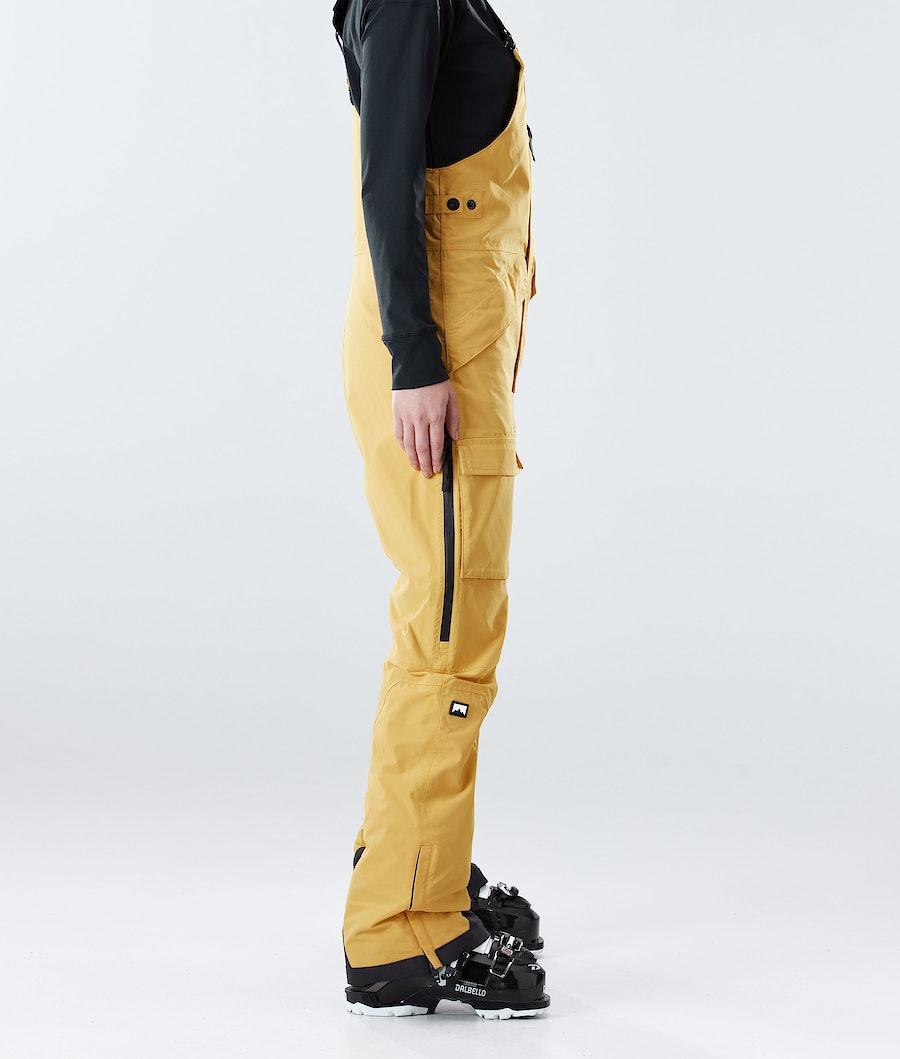 Montec Fawk W Women's Ski Pants Yellow