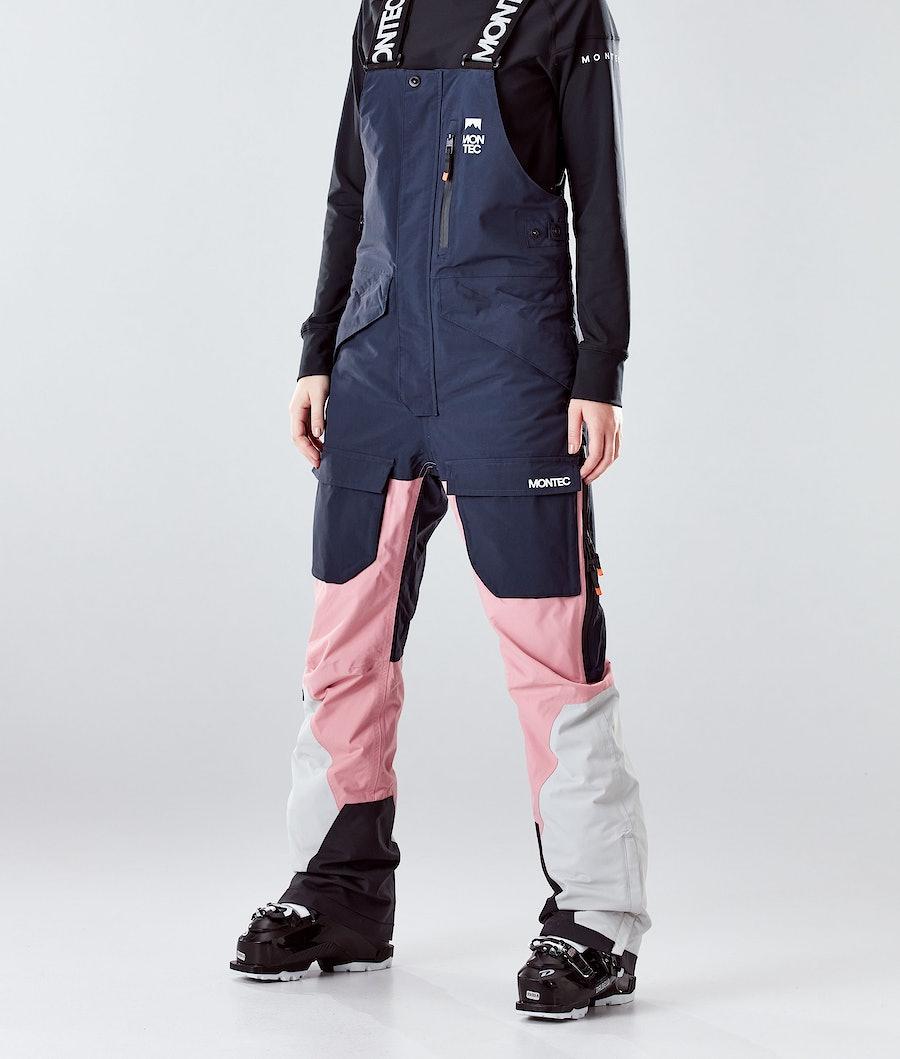 Montec Fawk W Ski Pants Marine/Pink/Light Grey Ski Pants Marine/Pink/Light Grey