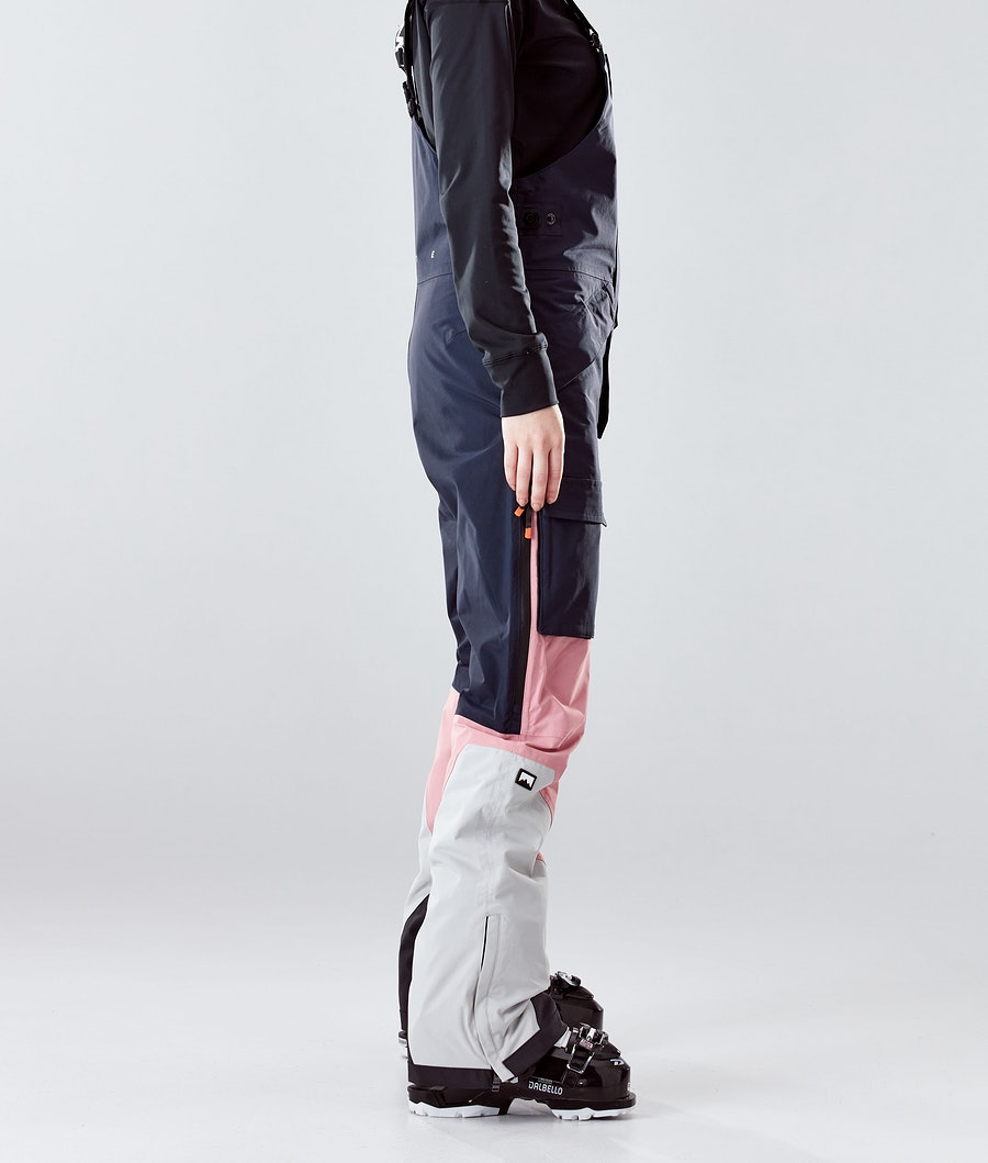 Montec Fawk W Women's Ski Pants Marine/Pink/Light Grey