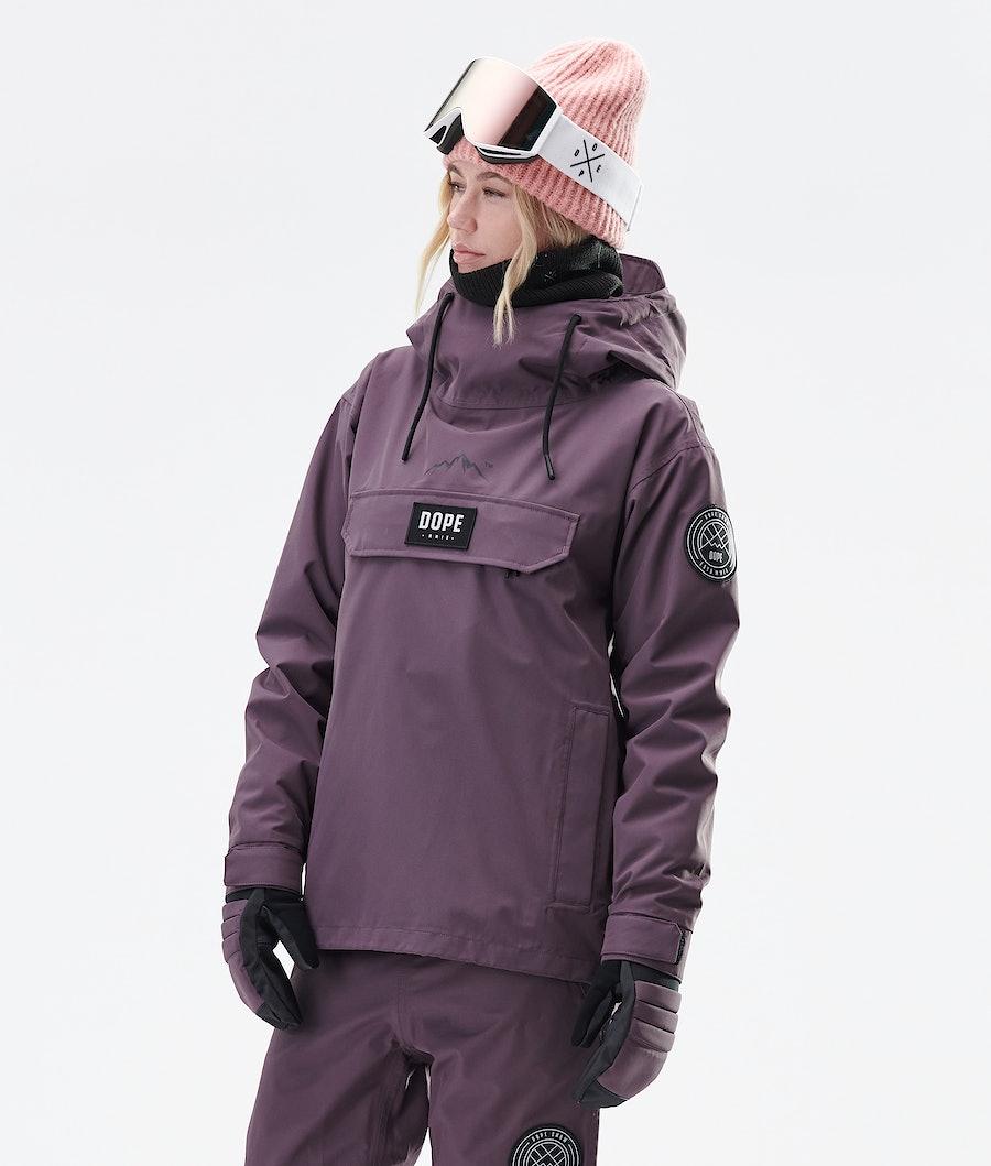 Dope Blizzard PO W 2020 Ski Jacket Faded Grape