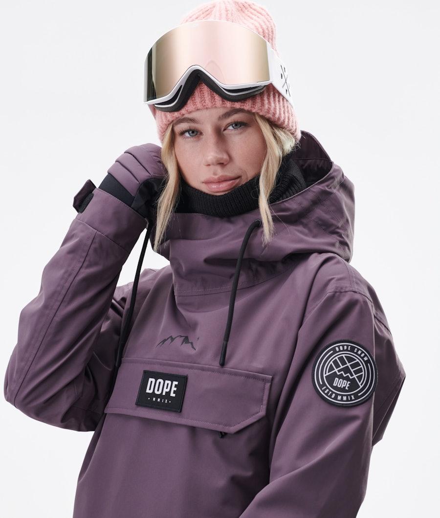 Dope Blizzard PO W 2020 Women's Ski Jacket Faded Grape