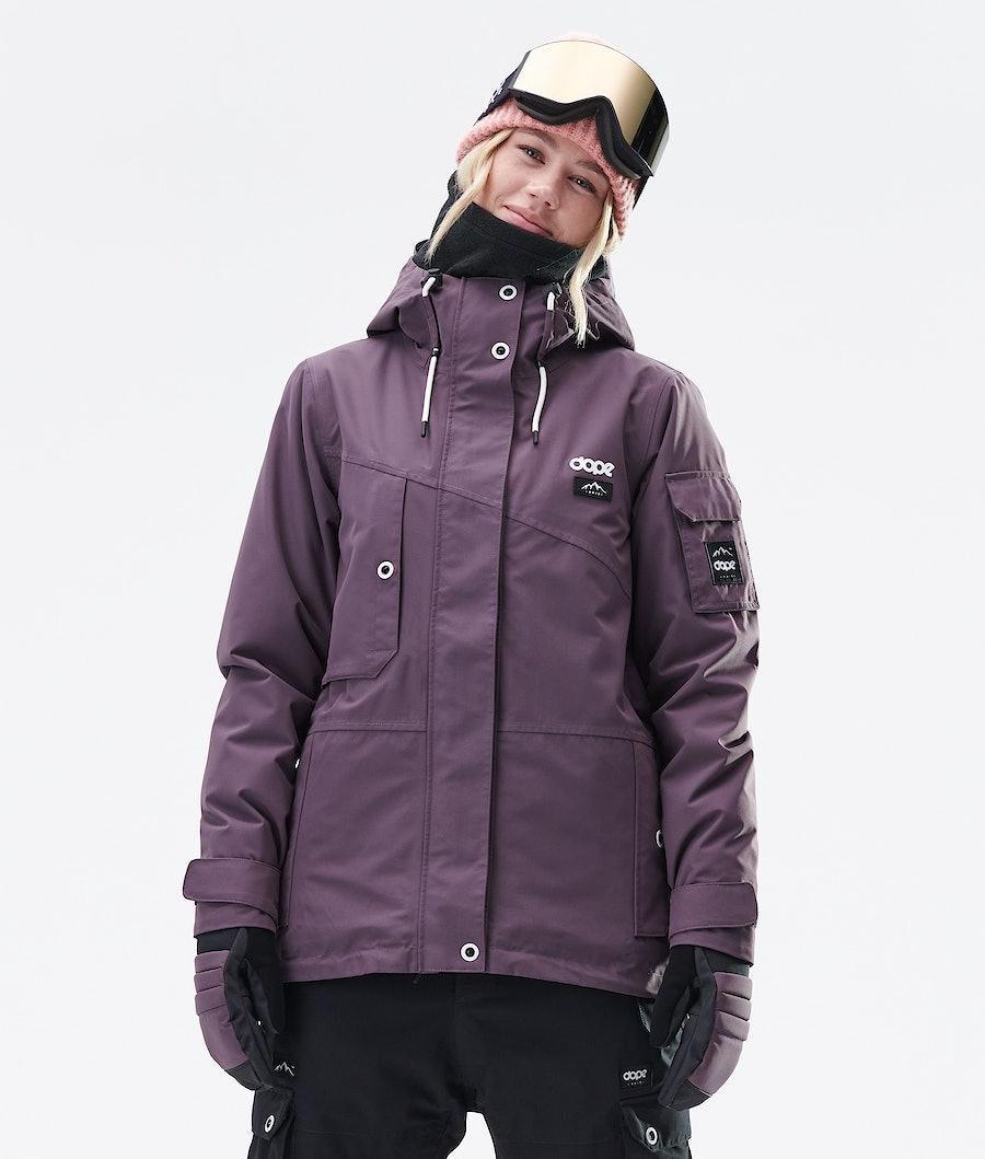 Dope Adept W Ski jas Dames Faded Grape