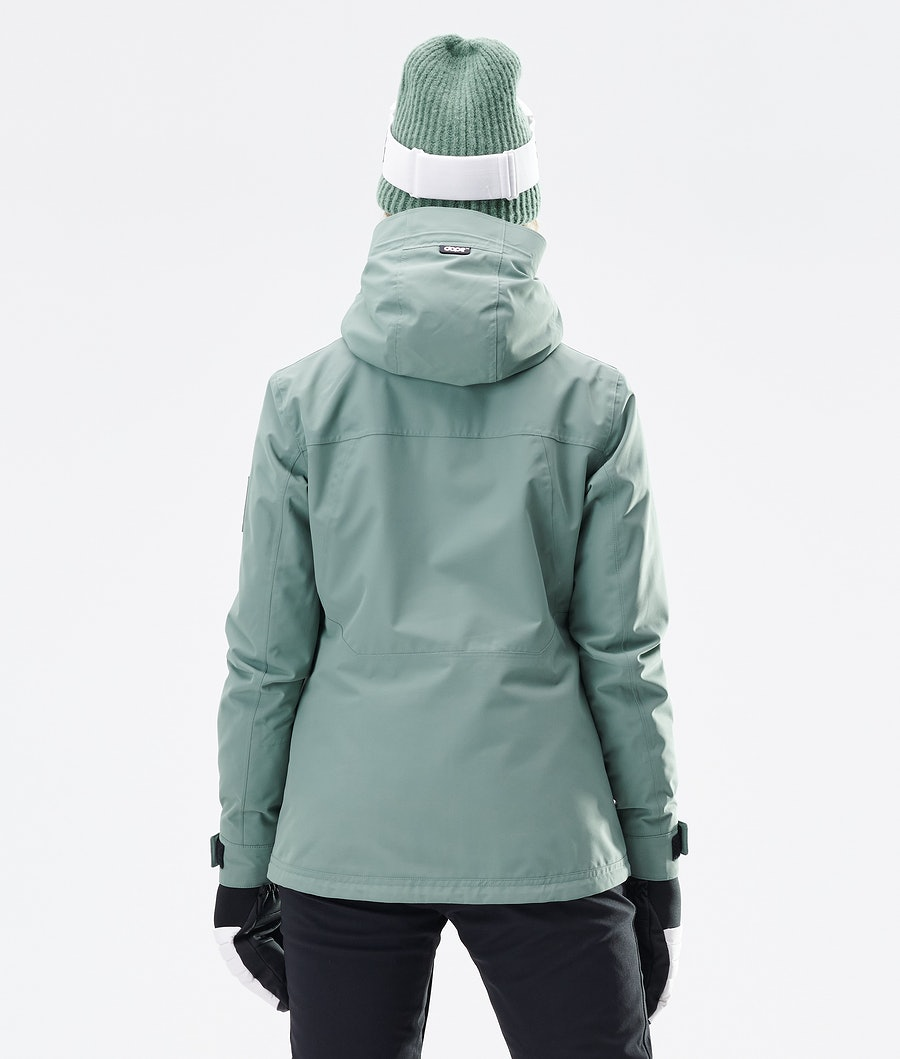 Dope Divine Ski jas Dames Faded Green
