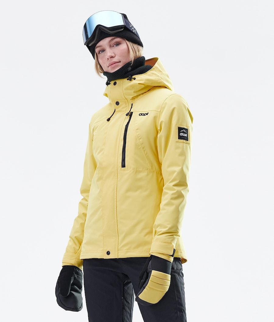 Dope Divine Ski Jacket Faded Yellow