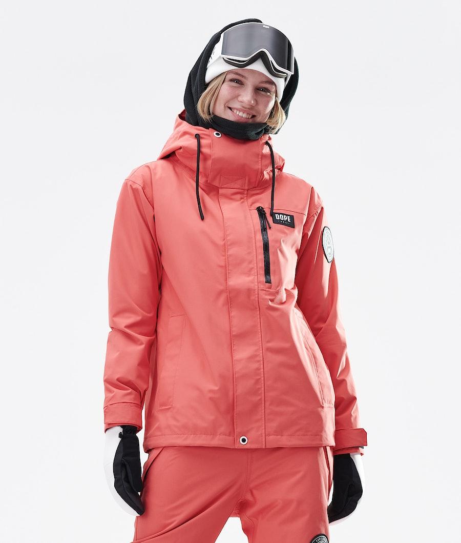 Dope Blizzard FZ W 2020 Ski Jacket Coral
