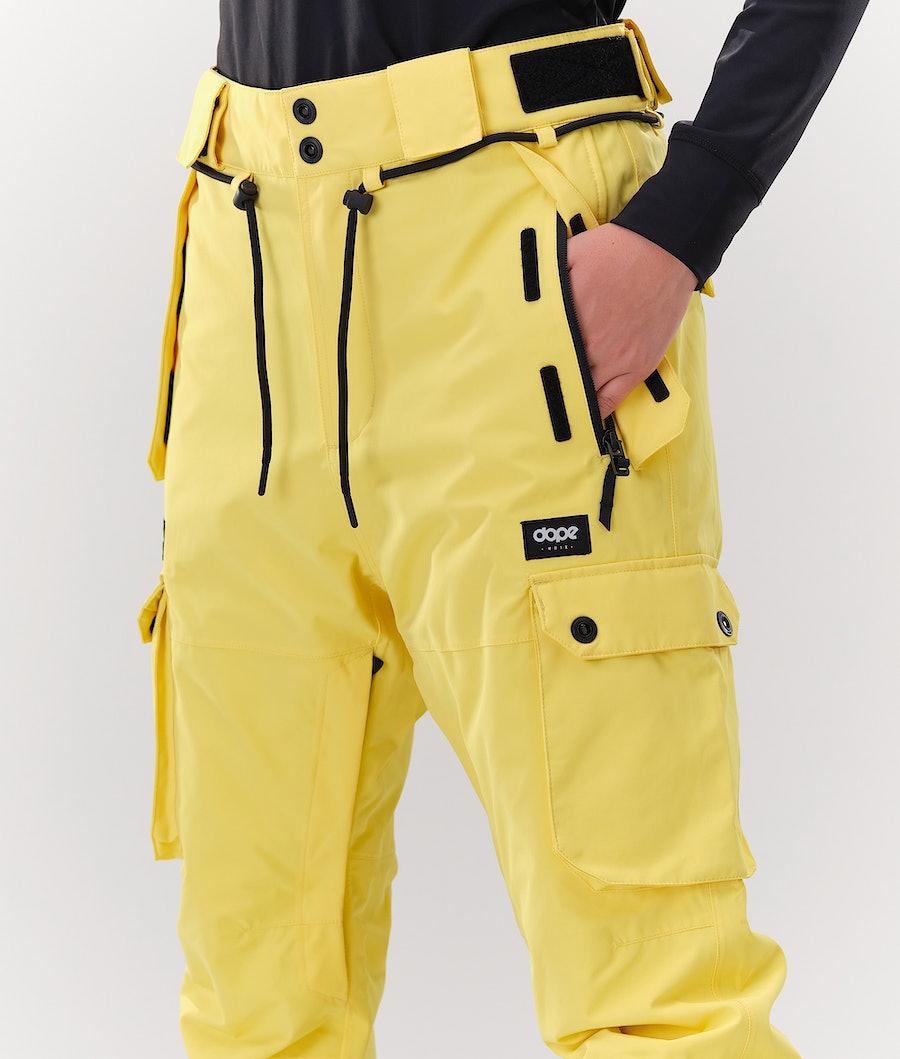 Dope Iconic W Pantaloni Sci Donna Faded Yellow