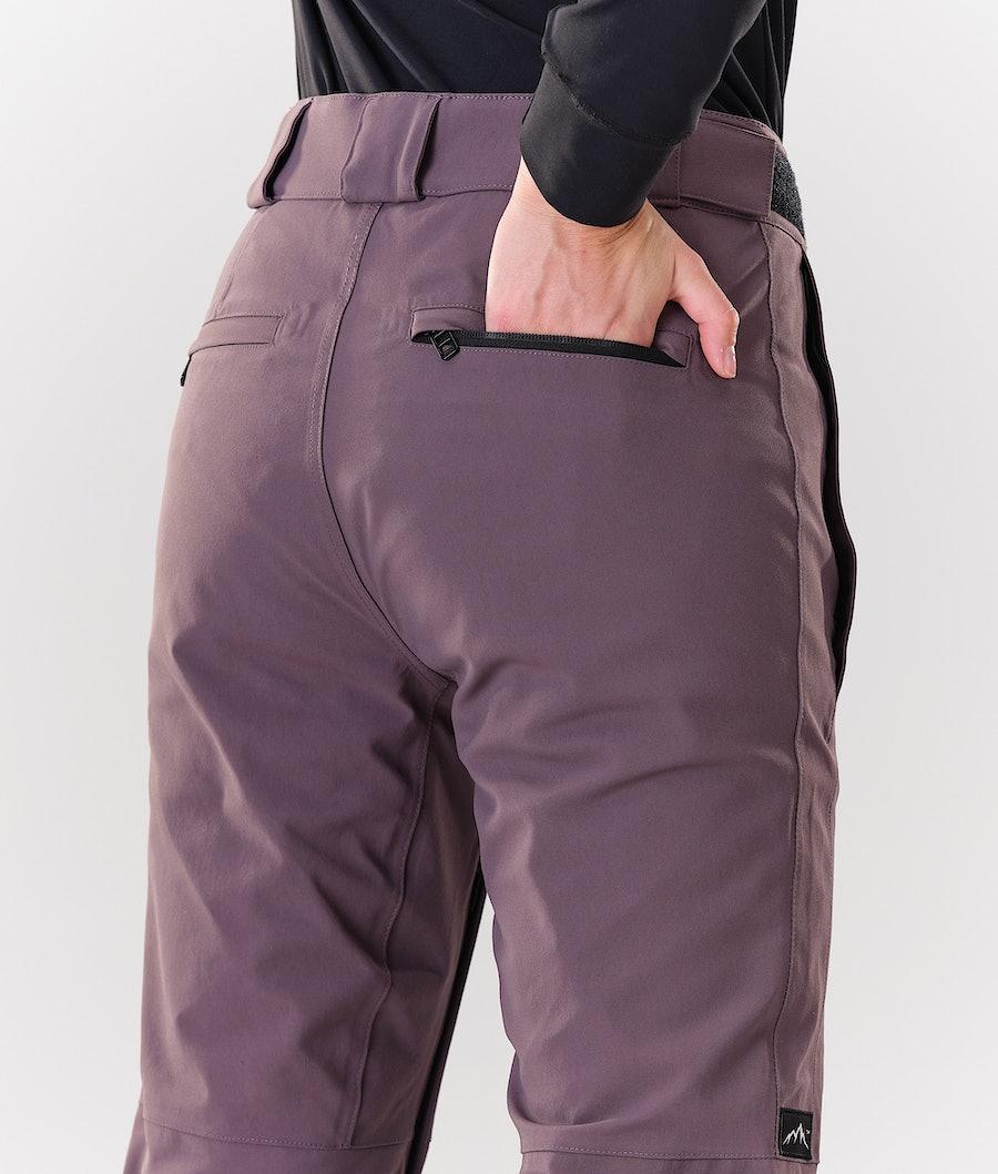 Dope Con Women's Ski Pants Faded Grape