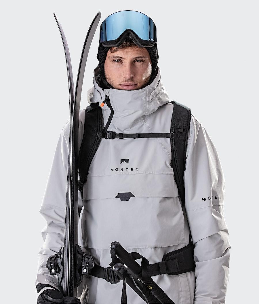 Montec Dune Ski Jacket Light Grey