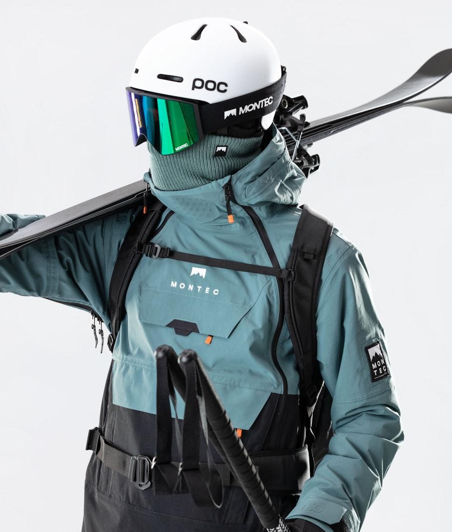 Montec Doom Ski Jacket Atlantic/Black