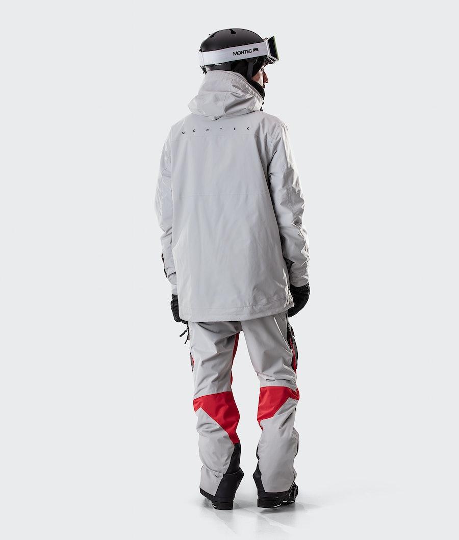 Montec Doom Ski Jacket Light Grey