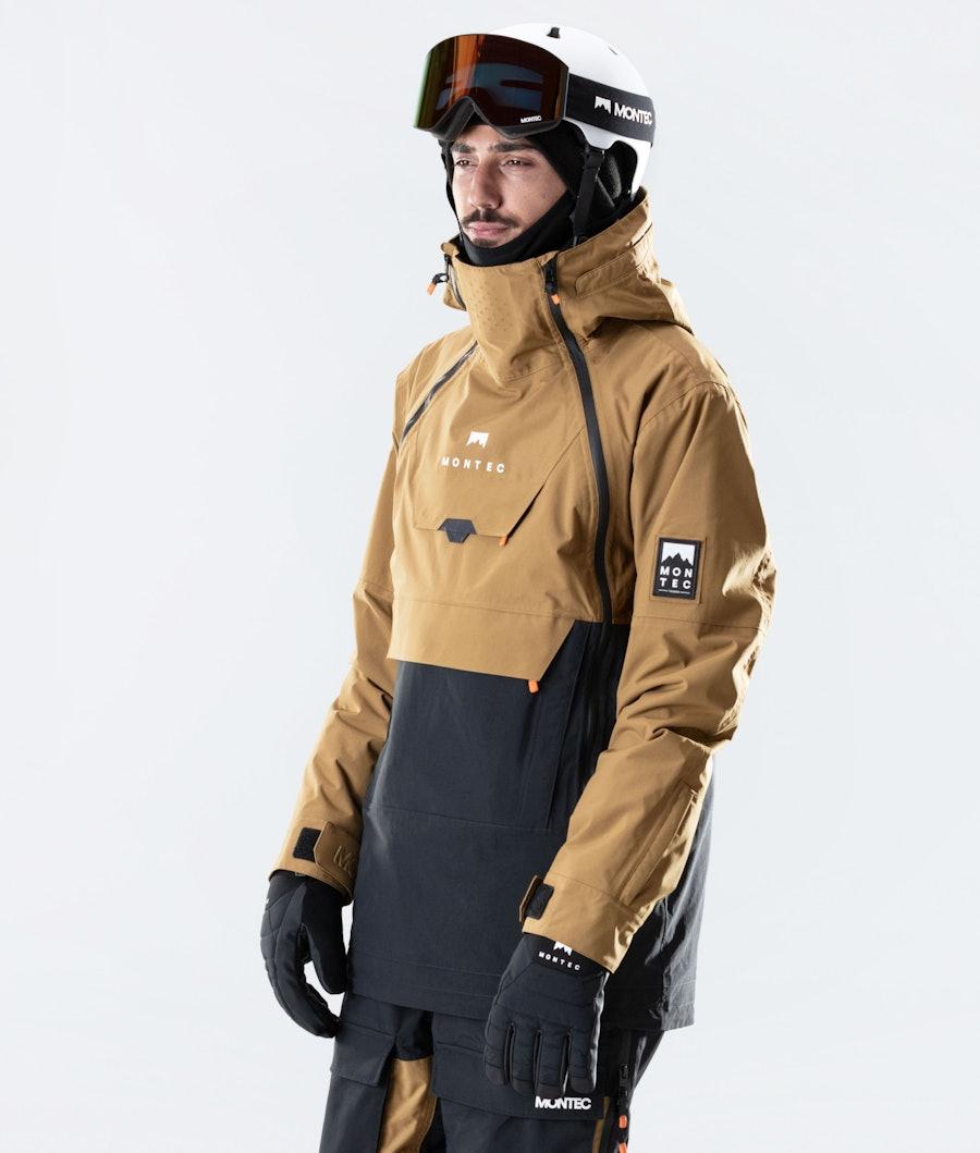 Montec Doom Ski Jacket Gold/Black Ski Jacket Gold/Black