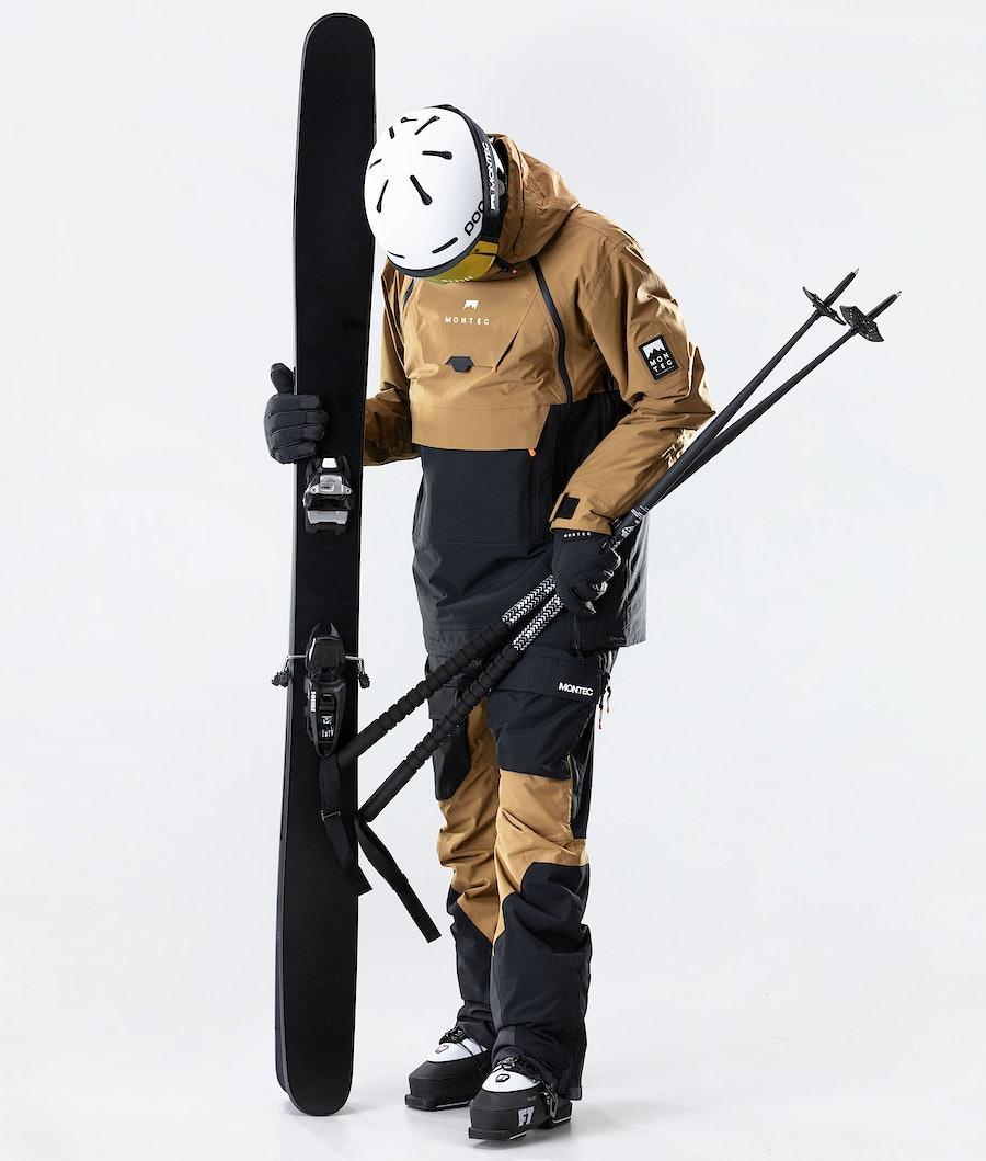 Montec Doom Skidjacka Gold/Black