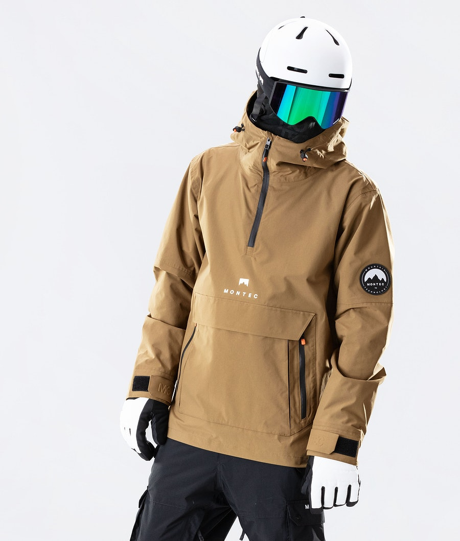 Typhoon Ski Jacket Men Gold